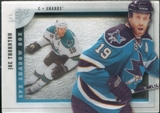 2009/10 Upper Deck SPx Shadowbox #SH7 Joe Thornton