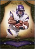 2009 Upper Deck Exquisite Collection #3 Adrian Peterson /80