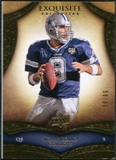 2009 Upper Deck Exquisite Collection #4 Tony Romo /80