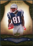 2009 Upper Deck Exquisite Collection #9 Randy Moss /80