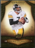 2009 Upper Deck Exquisite Collection #11 Ben Roethlisberger /80