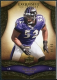 2009 Upper Deck Exquisite Collection #22 Ray Lewis /80