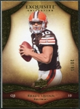 2009 Upper Deck Exquisite Collection #23 Brady Quinn /80