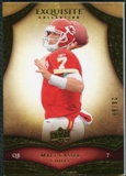 2009 Upper Deck Exquisite Collection #25 Matt Cassel /80