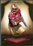 2009 Upper Deck Exquisite Collection #29 Frank Gore /80