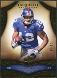2009 Upper Deck Exquisite Collection #33 Steve Smith USC /80