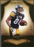 2009 Upper Deck Exquisite Collection #38 Hines Ward /80
