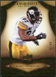 2009 Upper Deck Exquisite Collection #39 James Harrison /80
