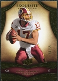 2009 Upper Deck Exquisite Collection #51 Jason Campbell /80