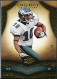 2009 Upper Deck Exquisite Collection #71 DeSean Jackson /80