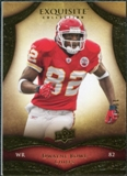 2009 Upper Deck Exquisite Collection #74 Dwayne Bowe /80