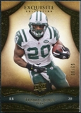 2009 Upper Deck Exquisite Collection #85 Thomas Jones /80