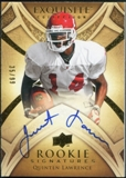 2009 Upper Deck Exquisite Collection #155 Quinten Lawrence RC Autograph /99