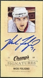 2009/10 Upper Deck Champ's Signatures #CSFO Nick Foligno Autograph