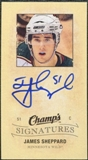 2009/10 Upper Deck Champ's Signatures #CSJS James Sheppard Autograph