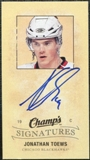 2009/10 Upper Deck Champ's Signatures #CSJT Jonathan Toews Autograph