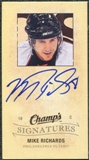 2009/10 Upper Deck Champ's Signatures #CSMR Mike Richards Autograph