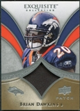 2009 Upper Deck Exquisite Collection Patch #PBD Brian Dawkins /75