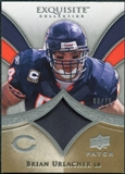 2009 Upper Deck Exquisite Collection Patch #PBU Brian Urlacher /75