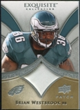 2009 Upper Deck Exquisite Collection Patch #PBW Brian Westbrook /75
