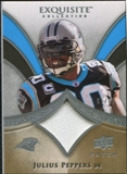 2009 Upper Deck Exquisite Collection Patch #PJP Julius Peppers /75
