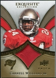 2009 Upper Deck Exquisite Collection Patch Gold #PCW Cadillac Williams /40