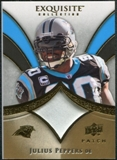 2009 Upper Deck Exquisite Collection Patch Gold #PJP Julius Peppers /40