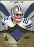 2009 Upper Deck Exquisite Collection Patch Gold #PJW Jason Witten /40