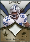 2009 Upper Deck Exquisite Collection Patch Gold #PMB Marion Barber 9/40