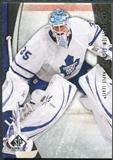 2010/11 Upper Deck SP Game Used #92 Jean-Sebastien Giguere