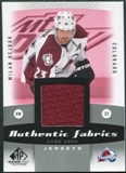 2010/11 Upper Deck SP Game Used Authentic Fabrics #AFHE Milan Hejduk