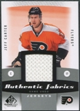 2010/11 Upper Deck SP Game Used Authentic Fabrics #AFJC Jeff Carter
