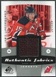 2010/11 Upper Deck SP Game Used Authentic Fabrics #AFJL Jamie Langenbrunner