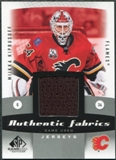2010/11 Upper Deck SP Game Used Authentic Fabrics #AFKI Miikka Kiprusoff