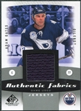2010/11 Upper Deck SP Game Used Authentic Fabrics #AFOA Adam Oates