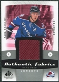 2010/11 Upper Deck SP Game Used Authentic Fabrics #AFPS Paul Stastny