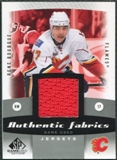 2010/11 Upper Deck SP Game Used Authentic Fabrics #AFRB Rene Bourque