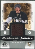 2010/11 Upper Deck SP Game Used Authentic Fabrics #AFSC Sidney Crosby