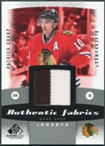 2010/11 Upper Deck SP Game Used Authentic Fabrics #AFSH Patrick Sharp