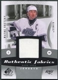2010/11 Upper Deck SP Game Used Authentic Fabrics #AFWG Wayne Gretzky