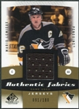 2010/11 Upper Deck SP Game Used Authentic Fabrics Gold #AFLE Mario Lemieux 91/100