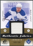 2010/11 Upper Deck SP Game Used Authentic Fabrics Gold #AFPK Phil Kessel /100