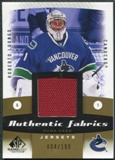 2010/11 Upper Deck SP Game Used Authentic Fabrics Gold #AFRL Roberto Luongo 4/100