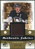 2010/11 Upper Deck SP Game Used Authentic Fabrics Gold #AFSC Sidney Crosby 49/100