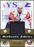 2010/11 Upper Deck SP Game Used Authentic Fabrics Gold #AFTA John Tavares /100