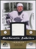 2010/11 Upper Deck SP Game Used Authentic Fabrics Gold #AFWG Wayne Gretzky 54/100