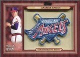 2011 Topps Commemorative Patch #NR Nolan Ryan S2
