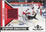 2010/11 Panini All Goalies Stopper Sweaters #6 Craig Anderson