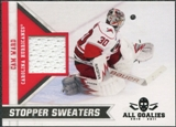 2010/11 Panini All Goalies Stopper Sweaters #10 Cam Ward