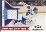 2010/11 Panini All Goalies Stopper Sweaters #11 Devan Dubnyk